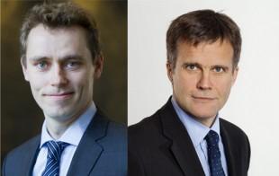 Ola Borten Moe og Helge Lund. Foto: Berit Roald / Scanpix, Trond Isaksen / Statoil