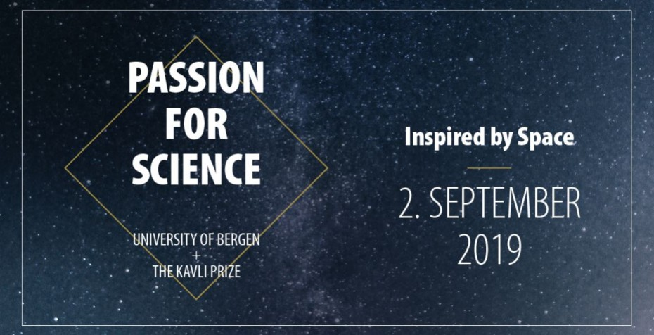 Inspired by space, Passion for Science